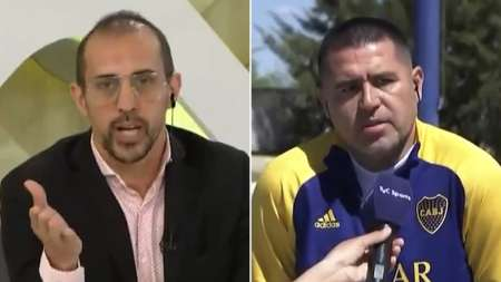 (VIDEO) Polémico cruce entre Chatruc y Riquelme en plena entrevista