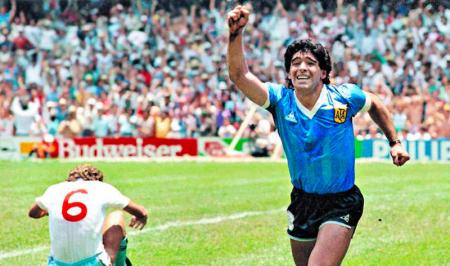 (FOTO) HOMENAJE: Diego Armando Maradona estrenó nuevas redes