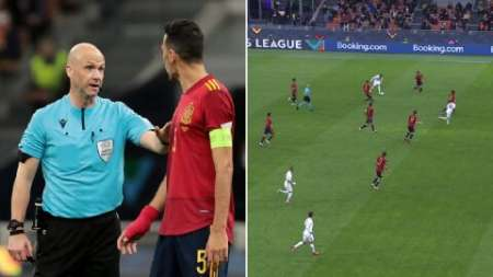 UEFA plantea cambiar la regla del offside tras el polémica gol de Mbappé ante España