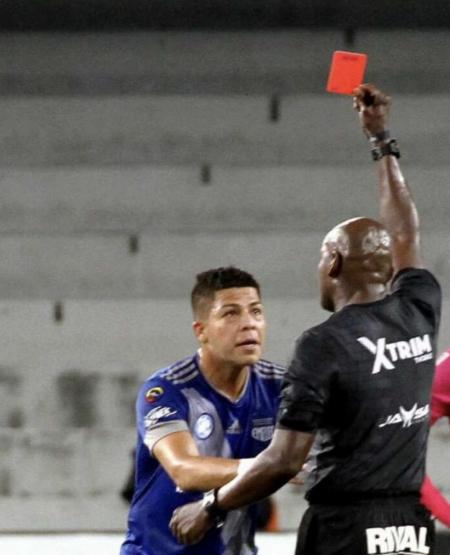 CONFIRMADO: Marlon Mejía fue suspendido por 3 partidos