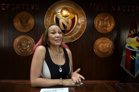 (VIDEO) Lucía Vallecilla reveló su futuro en El Nacional si vuelven a Serie A