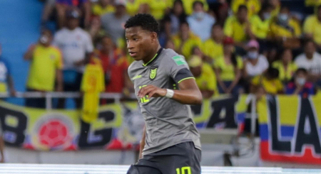 (FOTO) Gonzalo Plata se pronunció tras el empate contra Colombia