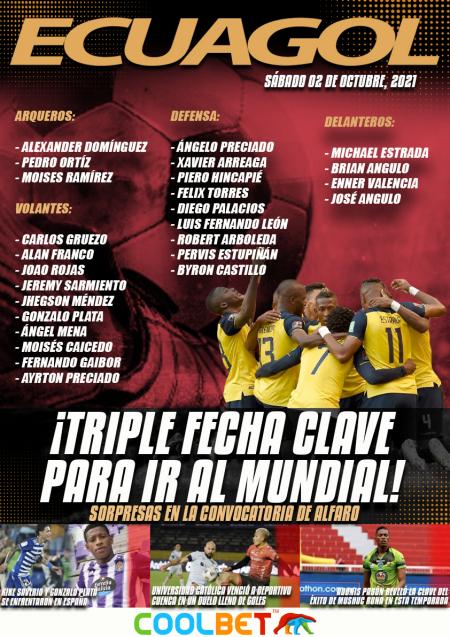 OFICIAL: Estos son los convocados de 'La Tri' para la triple fecha de Eliminatorias