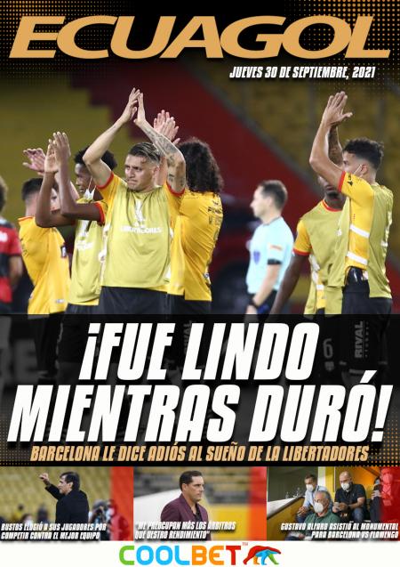Flamengo volvió a ganarle a Barcelona y terminó la ilusión amarilla
