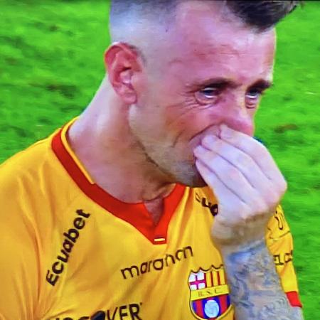 (VIDEO) Las lágrimas de Damián Díaz tras la eliminación ante Flamengo