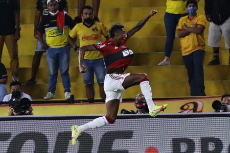 (VIDEO) El tanto de Bruno Henrique que abrió el marcador ante Barcelona