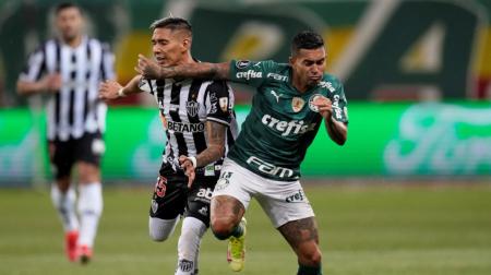 (VIDEO) Palmeiras y Atlético Mineiro igualaron en la primera semifinal de Copa Libertadores