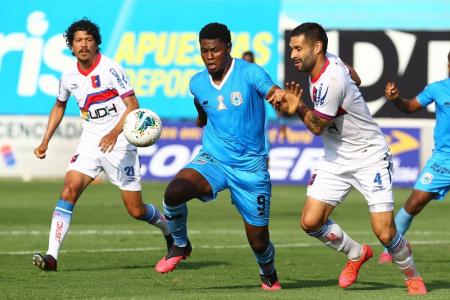 (VIDEO) Marlon De Jesús anotó el gol de la victoria para Binacional