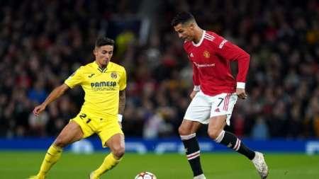 (VIDEO) Agónico gol de Cristiano Ronaldo en el triunfo del Manchester contra Villarreal