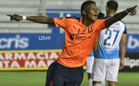 (FOTO) Así descubrió Pablo Marini a la joya de Liga de Quito, Nilson Angulo