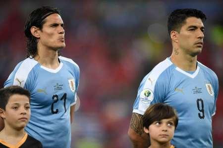 De esta manera, Uruguay reemplazará las ausencias de Suárez y Cavani