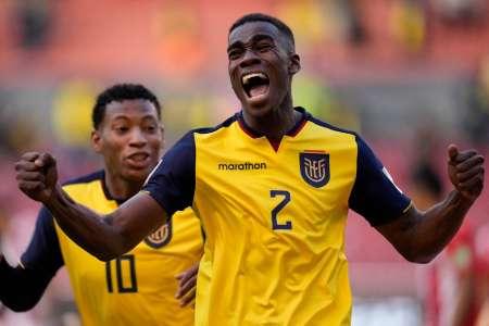 (VIDEO) Mira el agónico gol de Félix Torres que abrió el marcador del Ecuador - Paraguay