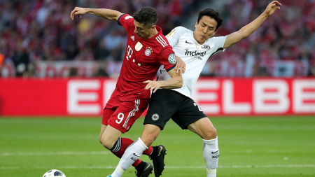 Eintracht Frankfurt sorpendió al Bayern Múnich y le ganó en el Allianz Arena