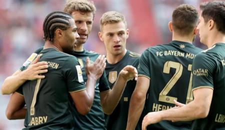 (VIDEO) Bayern Múnich se paseó y goleó al Bochum por 7-0
