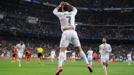¿Cuándo fue la primera vez que Cristiano Ronaldo hizo su famosa celebración?