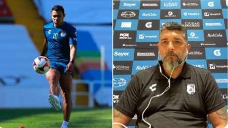 (FOTO) Leonardo Ramos DT de Querétaro hizo una revelación sobre Jefferson Montero