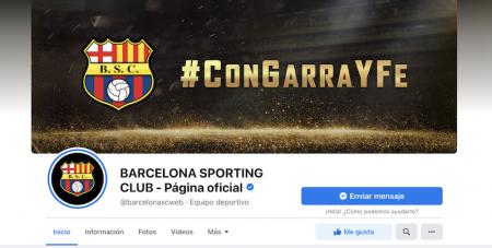 Barcelona SC entre los 20 clubes de América con más interacciones de Facebook