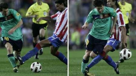 (FOTO) Las 10 peores faltas que ha sufrido Lionel Messi en su carrera