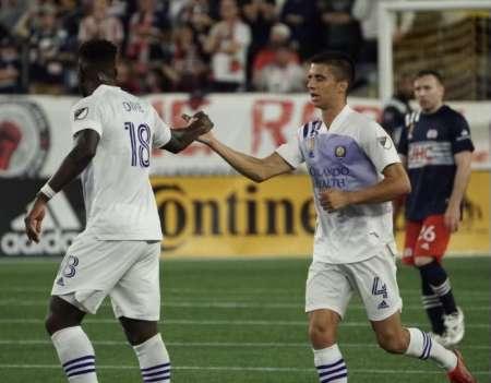 Jeghson Méndez titular en la derrota de Orlando City
