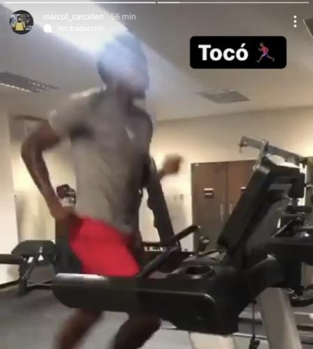 (VIDEO) La preparación especial de Michael Carcelén para enfrentar a Flamengo