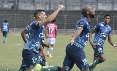 Atlético Santo Domingo sorprendió al líder Cumbayá