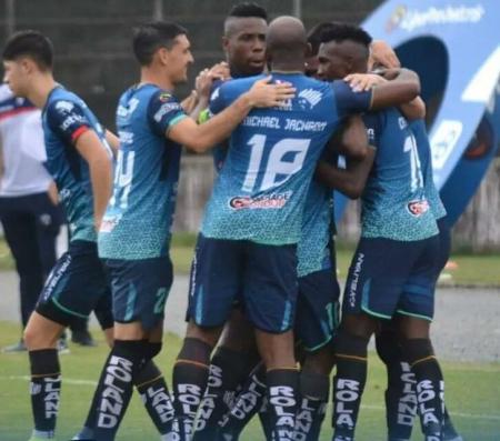 Atlético Santo Domingo derrotó de local a Atlético Porteño