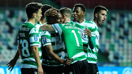 (VIDEO) La reacción de Gonzalo Plata tras el triunfo del Sporting Lisboa